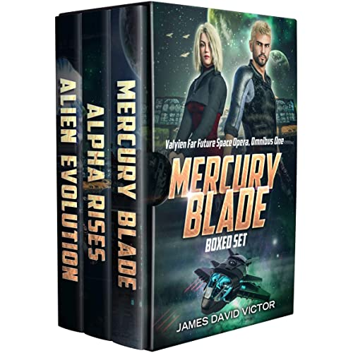 Mercury Blade Boxed Set (Valyien Far Future Space Opera Omnibus Book 1)