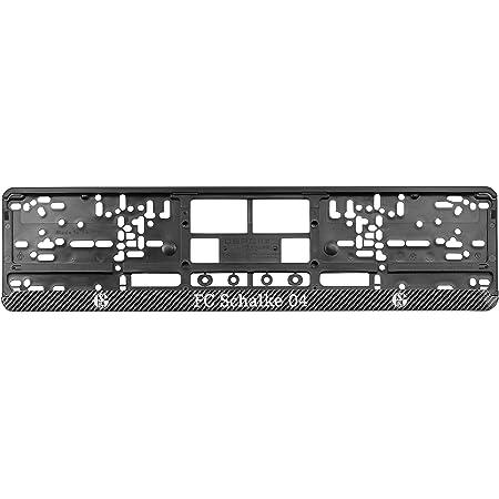 Fc Schalke 04 Nummernschildunterleger Carbon S04 Neu Sport Freizeit