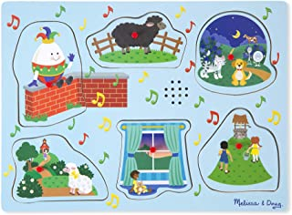 Melissa & Doug Nursery Rhymes B Sound Puzzle (6 Piece)