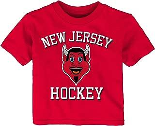 Outerstuff NHL Unisex-Child Hello Mascot Short Sleeve Tee
