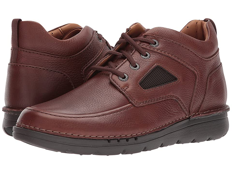 Clarks UnNature Mid (Brown Leather) Men