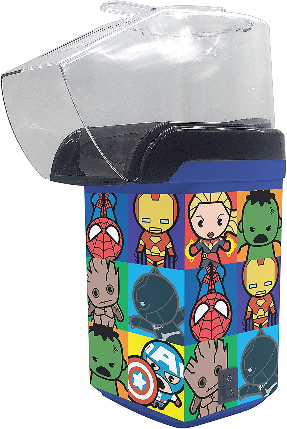 Marvel Kawaii Popcorn Maker- Kitchen Appliance Avengers 2021 spring and summer new Assemble 2021new shipping free