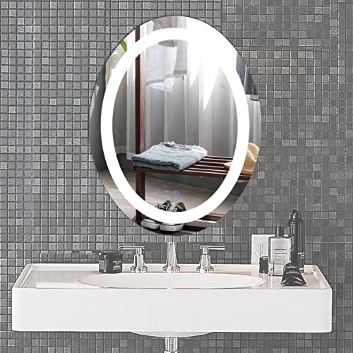 Oval Bathroom Mirrors Amazoncouk