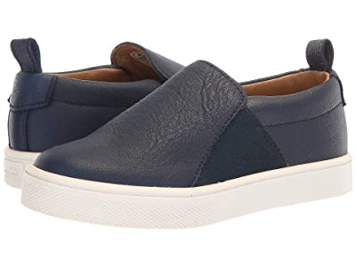 Freshly Picked Slip-On Sneaker (Toddler/Little Kid) (Navy) Kid