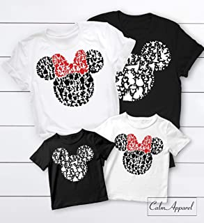 deb94607 Disney Shirts, Minnie Mickie Mouse Disneyland T-shirts, Family Matching  World Trip,