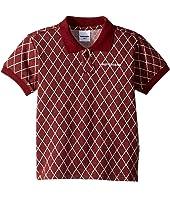 Rib Collar Mehki Short Sleeve Polo (Toddler/Little Kids/Big Kids)