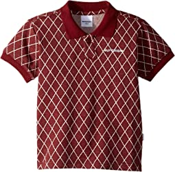 Rib Collar Mehki Short Sleeve Polo (Toddler/Little Kids/Big Kids)