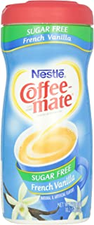 COFFEE MATE Sugar Free French Vanilla Powder Coffee Creamer 10.2 oz. Canister