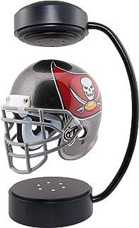 NFL Hover 头盔 - 收藏品悬浮足球头盔带电磁支架,坦帕湾海盗 - 球队颜色