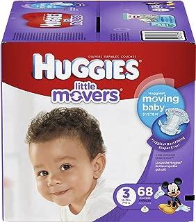 HUGGIES Huggies Little Movers Diapers - Size 3-68 Ct