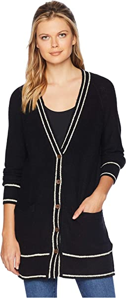 Button Front Cardigan Sweater