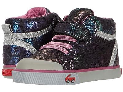 See Kai Run Kids Peyton (Toddler/Little Kid) (Black Shimmer) Girls Shoes