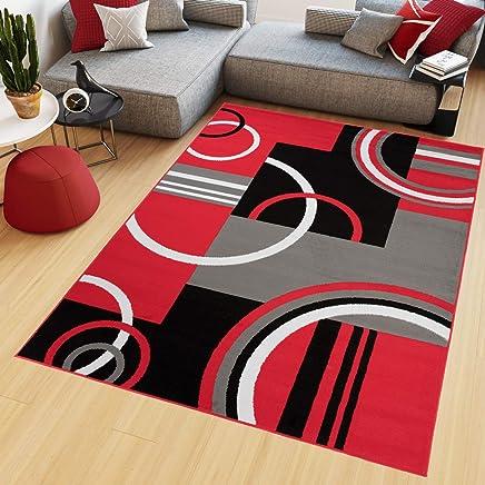 Tapiso Maya Tapis de Salon Chambre Ado Design Moderne Gris ...