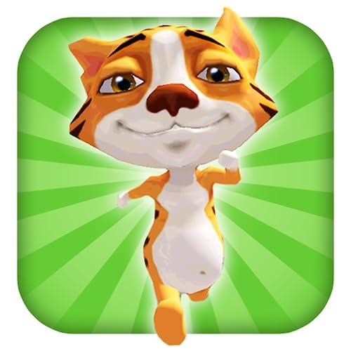 A Tiger Dash 3D: Animal Reino de los Gatos - FREE Edition