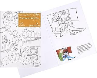 Libro de Colorear Colores de otoño: Actividades y Productos artísticos Especiales para Personas con Demencia/Alzheimer