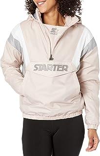 Starter Womens Throwback Half Zip Pullover Jacket