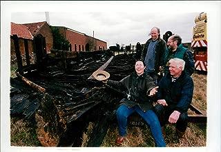Vintage photo of Boats: Norfolk Keel - Director Theole Douglas-Sherwood, George Monger, Kelvin Thatcher and Tom Conlin.