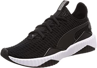 PUMA Women's Defy WN's Blk-wht Shoes, Black White