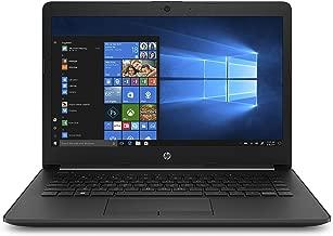 HP 14-inch Laptop, AMD A4-9125 Processor, 4 GB SDRAM, 500 GB SATA storage, Windows 10 Home (14-cm0020nr, Jet Black)