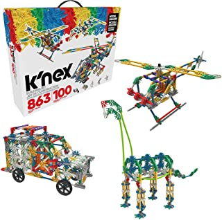 K'nex 100 Model Building Set, 863 Pieces, Ages 7+ Engineering Educational Toy