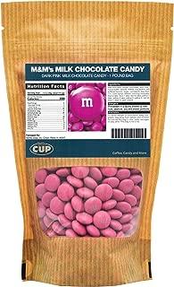 Dark Pink Milk Chocolate M&M'S Candy (1 Pound Bag)