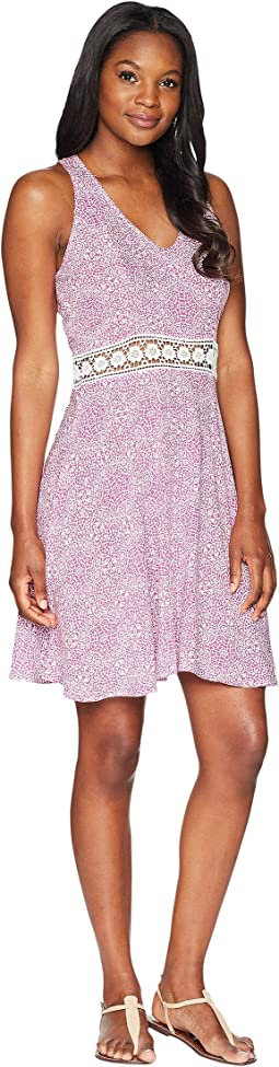 Roper 1599 Lace Printed Rayon Tank Dress