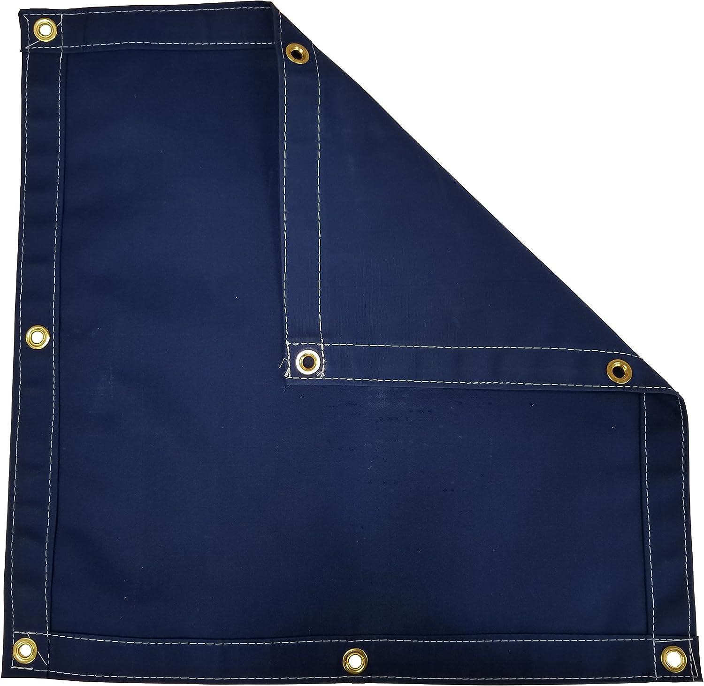 Blue Workhorse Fashionable latest Polyester Canvas Tarp 12 Ft. 14.5 - x Oz. 15