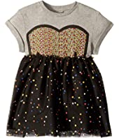 Stella McCartney Kids - Kaitlin Tulle Twofer Dress (Toddler/Little Kids/Big Kids)