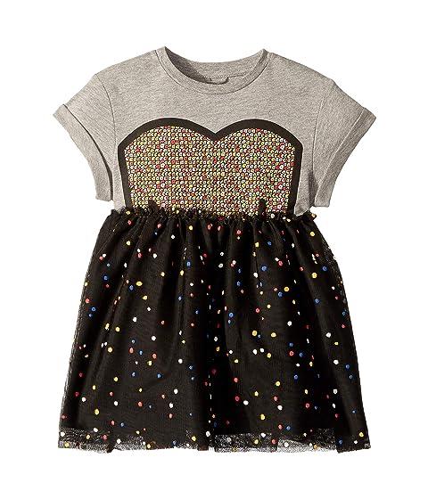 Stella McCartney Kids Kaitlin Tulle Twofer Dress (Toddler/Little Kids/Big Kids)