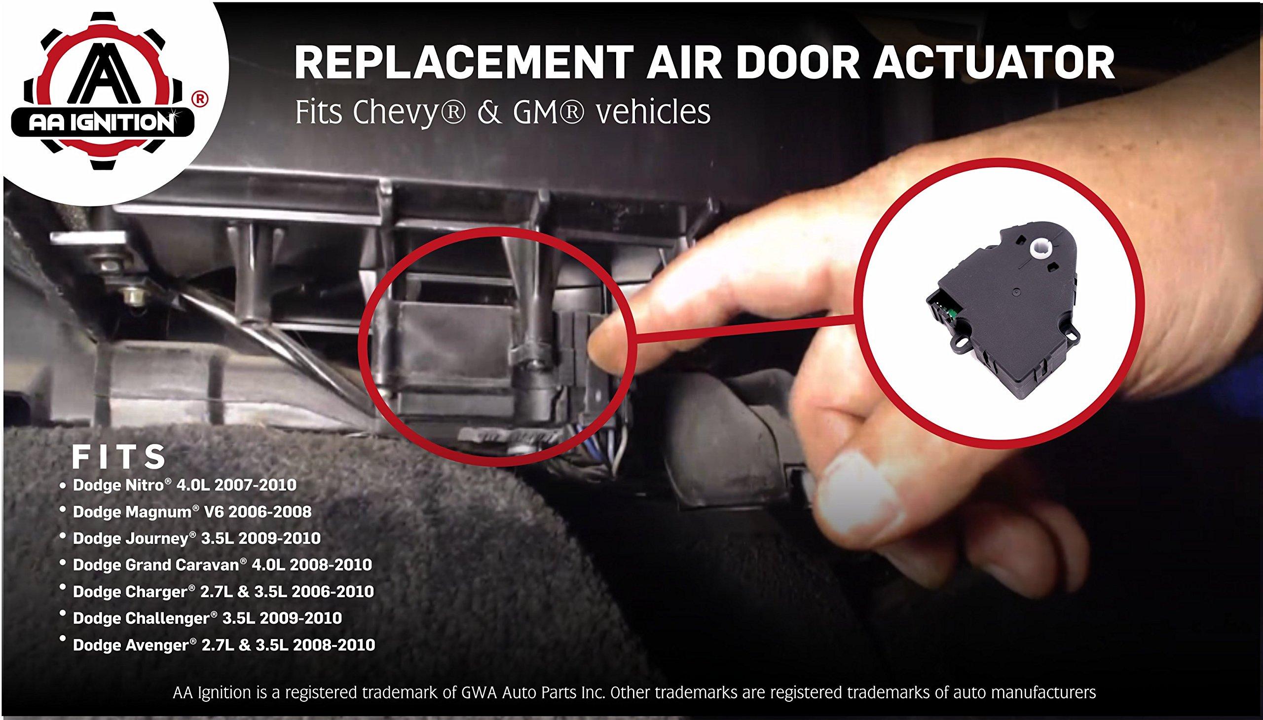 Amazon Com Hvac Blend Door Actuator Replaces 604107 16124932 16177412 604 107 Compatible With Chevy Gmc Vehicles And More Tahoe Malibu Monte Carlo Corvette K1500 Suburban Yukon Regal Automotive