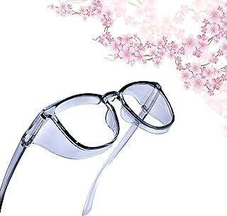 Anti Fog Safety Goggles UV400 Protective Glasses,Blue Light Blocking Eyeglasses for Men Women,TR90 Side Shields Protection...