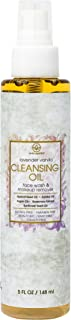 Facial Cleansing Oil & Makeup Remover- Premium Natural & Organic Moisturizing Face Wash For Dry, Sensitive Skin With Organic Argan Oil, Apricot Oil, Jojoba Oil, Rosemary Extract 5oz Era-Organics