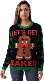 #followme Womens Ugly Christmas Sweater - Sweaters for Women