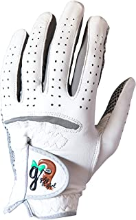 Grip it Girl Girl's Genuine Cabretta Leather Golf Glove with a Unique Stable Grip Left Hand • Youth/Junior Sizes • Girls, Ladies, Women Brand