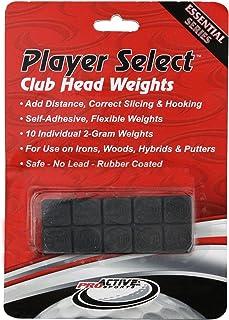 ProActive Sports Player 精选自粘,橡胶涂层,高尔夫球杆头重量(