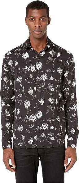 Wild Roses Print Shirt