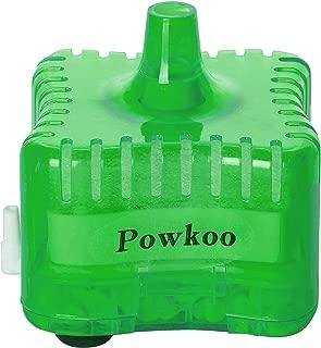 Powkoo Aquarium Filter Sponge Air Driven Sponge Filter Fish Tank Filter with Triple Filtration System
