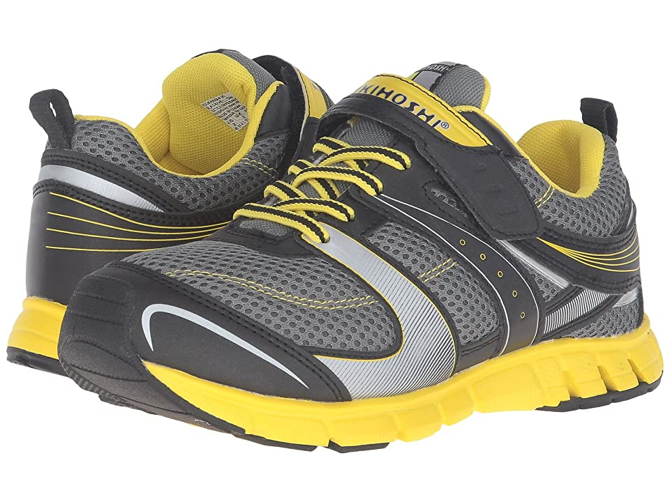 Tsukihoshi Kids Velocity (Toddler/Little Kid) (Black/Yellow) Boys Shoes