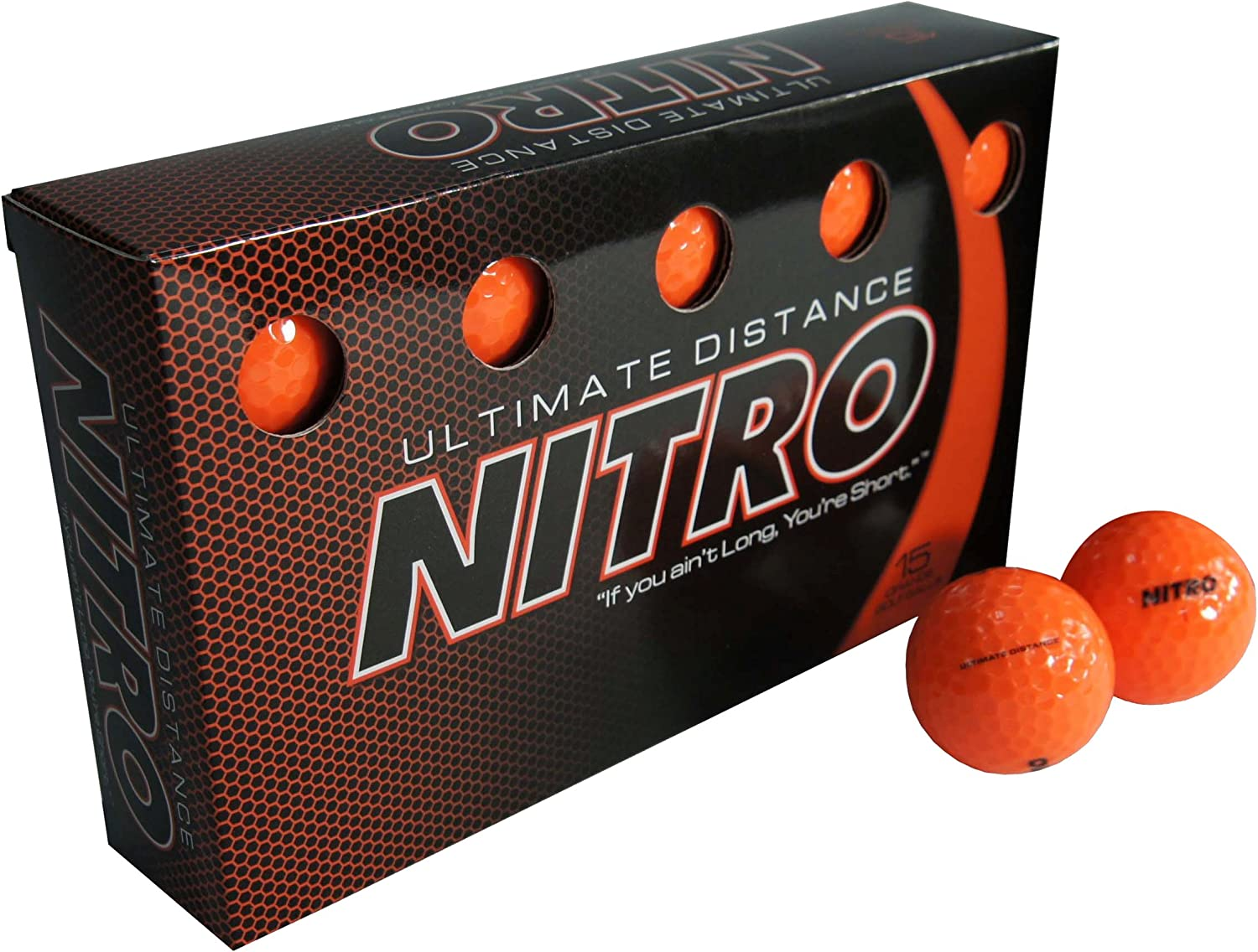 Nitro Ultimate Distance Ball Golf National products All items free shipping 15-Pack