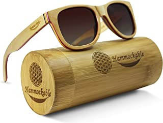 Maple Wood Sunglasses - 100% Polarized Lenses in a Handmade Wooden Wayfarer that Floats!