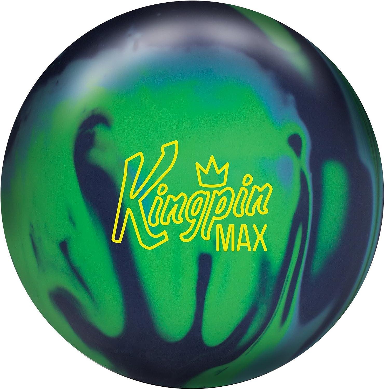 Brunswick KingPin Max Bowling Ball Navy Green Light blueee