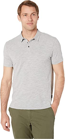 05fb5809a Gregory Short Sleeve Moulinex Slub Polo K4173V1B. John Varvatos Star U.S.A.