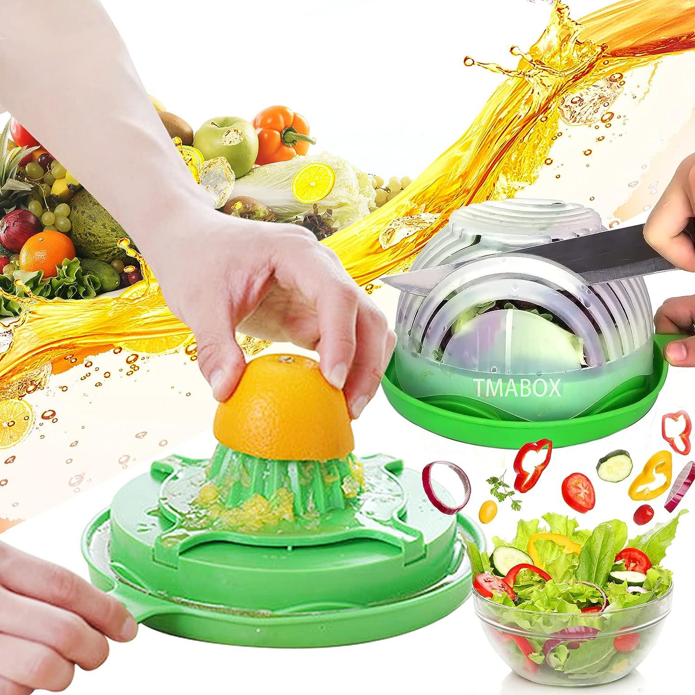 Salad Cutter Regular dealer Cheap mail order shopping Bowl Chopper Fruit Vegetable Upg Set Cut