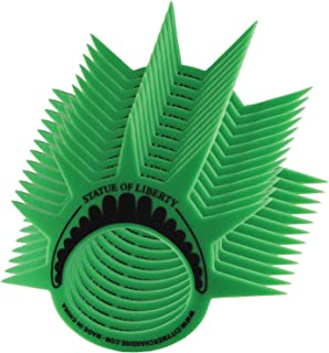 ((PACK OF 12)) Famous Statue of Liberty Party Crown Hat Cap and Visor, This Lady Liberty Themed Foam Crown is Perfect for New York Themed Party's, Costumes and as a New York Souvenir Gift