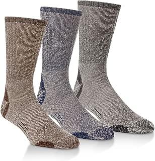 Omni-Wool 3 Pairs Merino Wool Light Hiker Socks