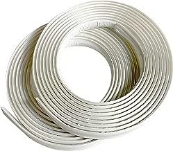 "Instatrim 1/2 Inch (Covers 1/4"" Gap) Flexible, Self-Adhesive, Caulk and Trim Strips.."