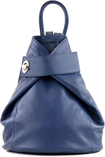 modamoda de T179 - ital: Damen Rucksack Tasche aus Leder