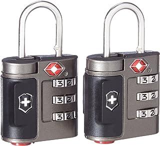 Victorinox Travel Sentry - Juego de cerraduras combinadas homologadas