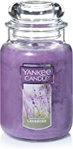 Yankee Candle Lavender Scented Premium Paraffin Grade Candle Wax with up to 150 Hour Burn Time, Large Jar
