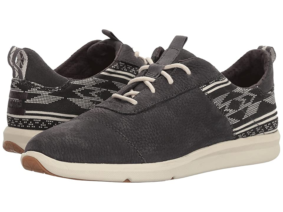 TOMS Cabrillo (Forged Iron Grey Nubuck/Ethnic Tribal) Women